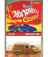 2004 Hot Wheels Classics Series 1 4/25 1956 FORD F-100 Gold Variant w/RL... - $12.00