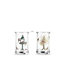 HOLMEGAARD NORWEGIAN CHRISTMAS DRAM GLASS,  2 pieces 2014 - $32.73