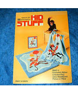 Kid Stuff Mini Book 367 Monkey & Bouquet Spinnerin - $4.50
