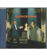 FREDDIE MERCURY & MONTSERRAT CABALLE - BARCELONA 1992 UK 4 TRACK CD SING... - $19.53