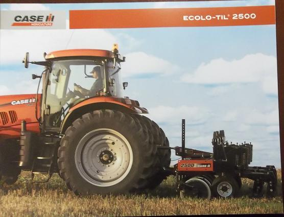Primary image for 2008 Case-IH 2500 Ecolo-Til Chisel Plow Color Brochure