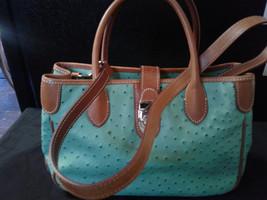 DOONEY & BOURKE Women's Green Satchel Purse + Wallet & Check Book - $135.00