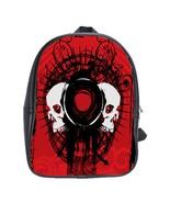 Skulls Custom Leather Backpack - $29.99