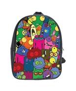 Monsters Custom Leather Backpack - $29.99