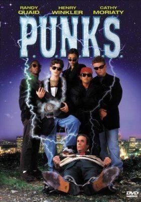 P.U.N.K.S. Punks - Jessica Alba - Henry Winkler - Randy Quaid - RARE NEW DVD