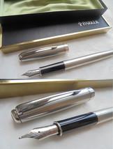PARKER SONNET fountain pen in steel In gift box - $54.00