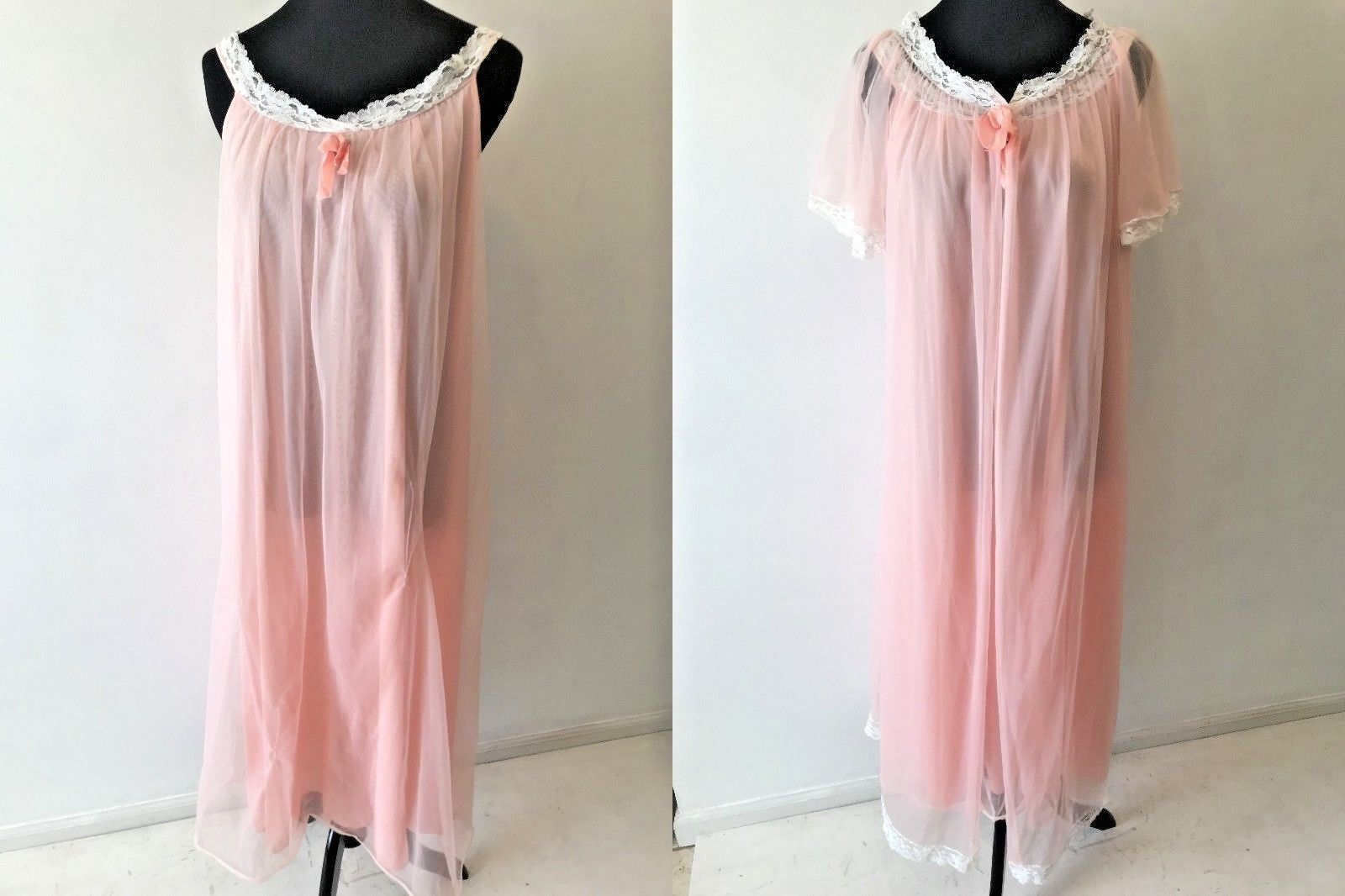 Vintage 1960s Sears Peignoir Nightgown Robe and 44 similar items. 57 d0cdfc942