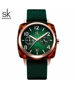 SK® Women Watch Fashion Women Watch Nylon Quartz Wristwatch Lady Watch R... - $38.73