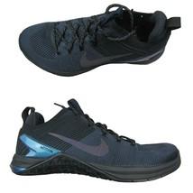 Nike Metcon DSX Flyknit 2 AMP Cross Training Shoes 10.5 Black Navy AV383... - $79.15