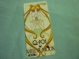 Sailor moon bookmark card sailormoon anime q pot qpot usagi yellow - $6.00