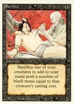 Magic: The Gathering 3rd Edition - Sacrifice - $0.25