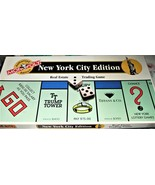 Monopoly Game  - New York City Edition Monopoly  - 1995 (Complete) - $50.00