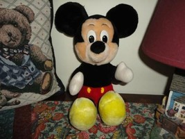 Vintage MICKEY MOUSE Plush Toy Doll 12 inch - $56.95