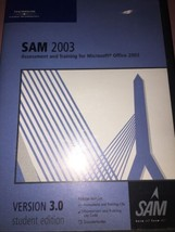 Sam 2003 Microsoft Bureau Entraînement CD par Thomson Cours Technologie - $5.88