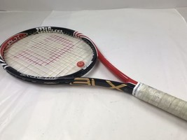 Wilson BLX Six.One Lite Head 102 Tennis Racket Racquet Grip 4 3/8  - $100.00