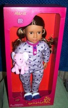 """Our Generation MARIA 18"""" Bedtime Doll New - $39.88"""