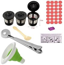 BEANS Bramd Refillable K-Cup Bundle:for 2.0 Keurig brewers: Feedom/All-M... - £16.65 GBP