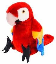 Wild Republic Scarlet Macaw Plush, Stuffed Animal, Plush Toy, Gifts for ... - $18.91