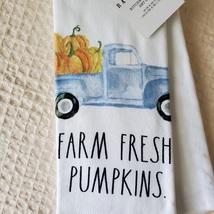 Rae Dunn Kitchen Towels, set of 2, Farm Fresh Pumpkins, fall decor image 3