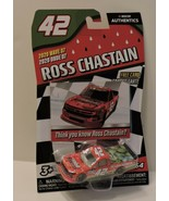 2020 ROSS CHASTAIN #42 CIRCLE TRACK NASCAR AUTHENTICS 1:64 W/TEAM TRADIN... - $9.85