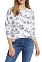 NEW Caslon L Large Cozy Print Lena Floral Sweatshirt Pullover $49 - $21.09