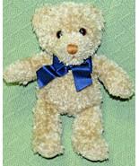 "9"" GUND Braun ThermoScan Teddy Bear Advertising Tan Plush Stuffed Blue B... - $19.80"