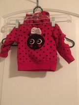 Duck Duck Goose Baby Girls Hooded SweatShirt Sz 0-3 Months  MultiColor O... - $51.15