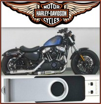 2018 Harley-Davidson Sportster Service & Electrical Diagnostic Manual USB Drive - $18.00
