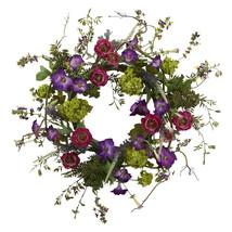 """20"""" Veranda Garden Wreath - $64.75"""