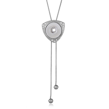 Newest style fit 18mm snap button Statement necklace Pendants Initial Necklace S image 5