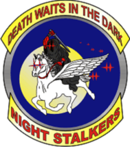 US Army 160th SOAR – Night Stalkers Sticker Death waits in the dark - $9.89