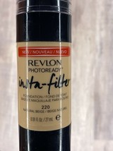 Revlon Photo ready Insta-Filter Foundation Natural Beige 220 - $8.32