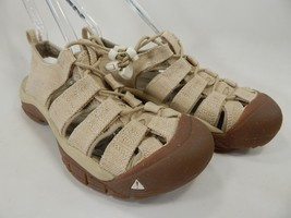 Keen Newport Retro Size US 7 M EU 37.5 Women's Sports Sandals Hemp / White Cap