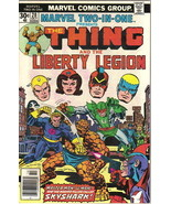 Marvel Two-In-One Comic Book #20 The Thing and Liberty Legion, Marvel 1976 FINE- - £3.03 GBP