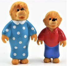 2 Piece 1986 The Berenstein Bears Family Mother and Brother Figures S&J - $8.59