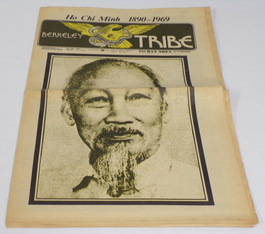 Primary image for ORIGINAL Vintage 1969 Berkeley Tribe Newspaper Ho Chi Minh Memorial Cover