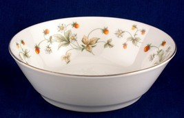 Royal Doulton Strawberry Cream Coupe Cereal Bowl TC1118 - $5.00