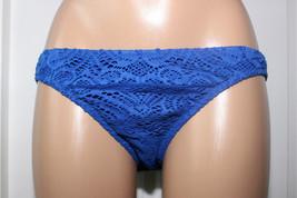 NEW  Polo Ralph Lauren Blue Crochet Hipster Bikini Bottom size XS XSmall - $11.87