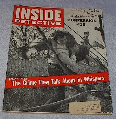 Primary image for Dell Inside Detective Crime Magazine April 1957