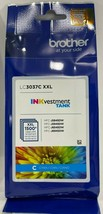 Brother - LC3037C - Super High-yield Cyan INKvestment Tank Ink Cartridge - $39.55