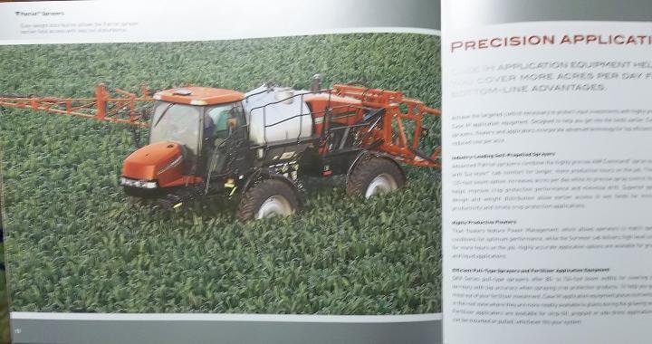 2008 Case-IH Full Line/Advanced Farming Systems (AFS) Color Brochure