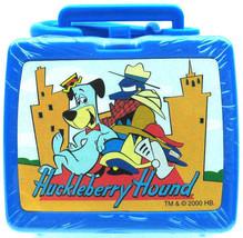 HUCKLEBERRY HOUND Flix TV Miniature Mini LUNCH BOX Keychain ZIPPER PULL ... - $13.36