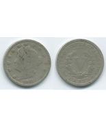VN28 - 1911 Liberty - V Nickel - $1.31 CAD