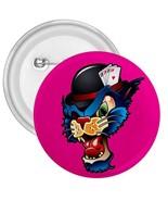 "Alley Cat Retro 3"" Mylar Button Pinback - $3.99"