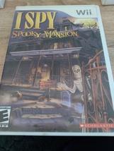 Nintendo Wii I SPY Spooky Mansion ~ COMPLETE image 1