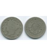 VN44 - 1911 Liberty - V Nickel - €1,21 EUR