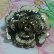 "Vintage Jewelry: 1"" Flower Brooch 170515 - $7.99"