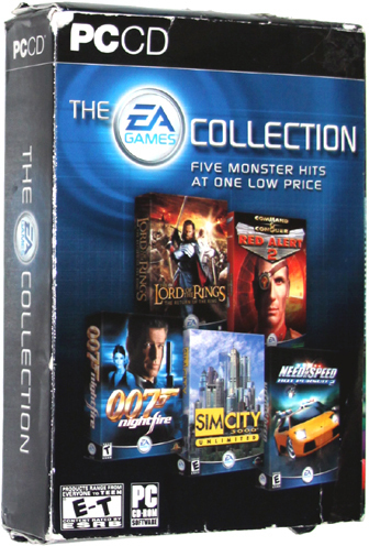 the ea games collection pc game video games. Black Bedroom Furniture Sets. Home Design Ideas