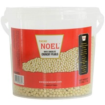 White Chocolate Crunchy Pearls - 1 pail - 2.2 lbs - $38.65