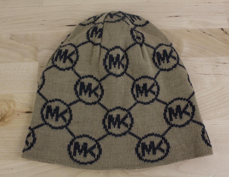 f480d80830c Michael Kors Beanie Skull Cap MK Logo Print and similar items. 57